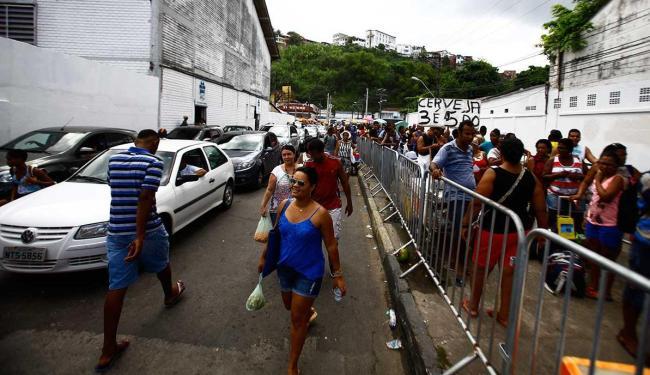 Três ferries deixam o terminal de São Joaquim por hora - Foto: Edilson Lima | Ag. A TARDE