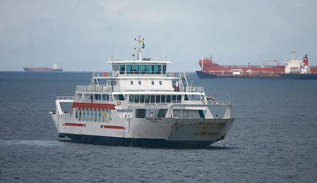 Para este final de semana, a travessia para Bom Despacho contará com oito ferries - Foto: Joá Souza   Ag. A TARDE