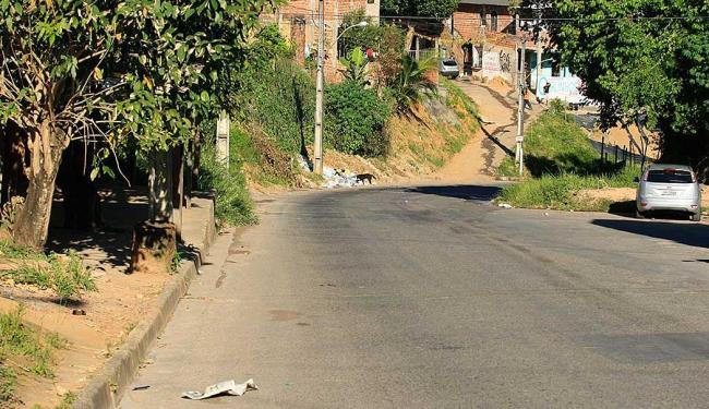 Confronto ocorreu no final de linha do bairro de Águas Claras - Foto: Joá Souza | Ag. A Tarde