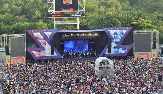 Bell, Harmonia, Tomate, Aviões e É o Tchan agitam multidão no primeiro dia do evento - Foto: Saulo Brandão l Divulgação