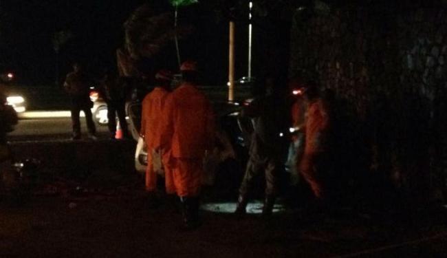Acidente matou três pessoas e deixou mais três feridas em Jaguaribe - Foto: Laís Medeiros| Cidadão Repórter