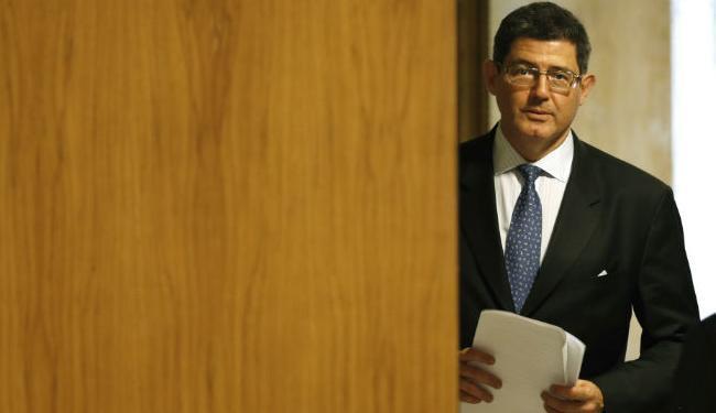 Um interlocutor de Dilma disse que Levy (foto) não foi surpreendido pelo aporte - Foto: AP Photo | Eraldo Peres