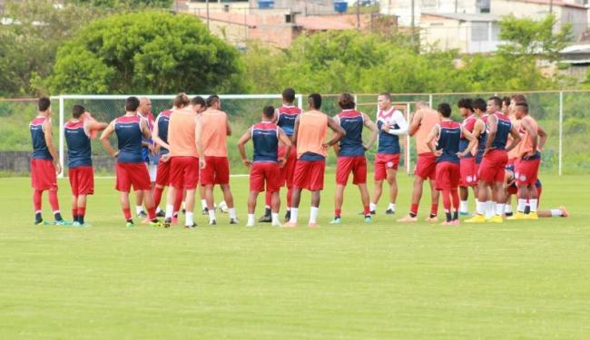 Jogadores realizaram último treino coletivo do ano no Fazendão - Foto: Reprodução | E.C.Bahia