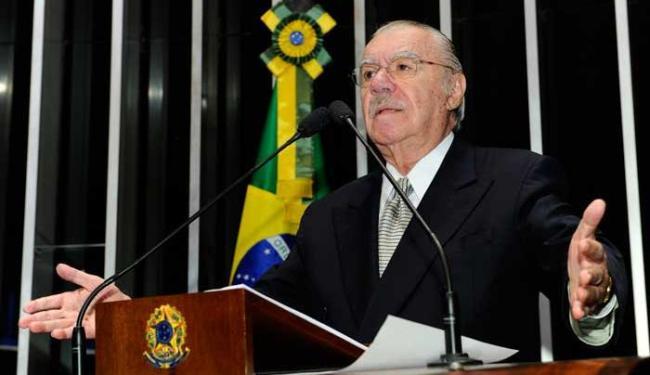 Sarney afirmou que seria preciso proibir ex-presidentes de ocuparem cargos públicos - Foto: Waldemir Barreto/Agência Senado