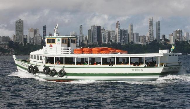 Travessia Salvador-Mar Grande deve encerrar embarques às 20h - Foto: Arestides Baptista   Ag. A TARDE