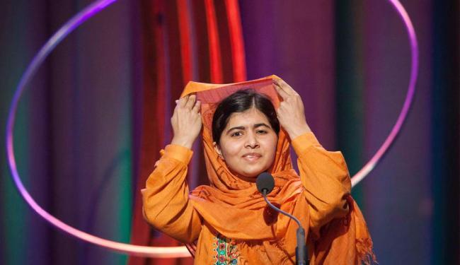 Malala quer mostrar que a educação não deve ser negada a nenhuma criança - Foto: Agência Reuters