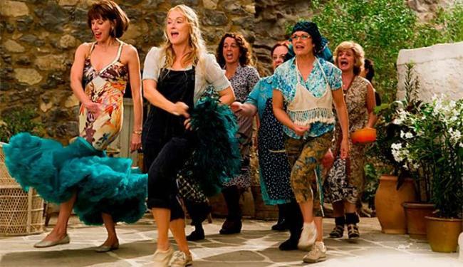 Adaptado para o cinema por Phyllida Lloyd com Meryl Streep, 'Mamma Mia!' virou sucesso de público - Foto: Divulgação