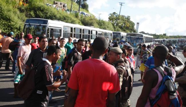 Terminal já havia sido fechado por manifestantes em abril deste ano - Foto: Edilson Lima | Ag. A TARDE | 11/04/2014