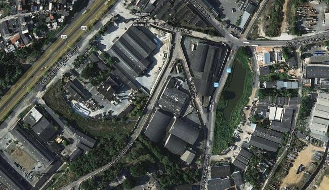 Mapa da região - Foto: Reprodução | Google Earth