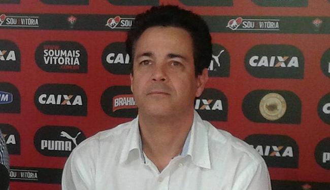 Marcos Teixeira participou pouco das contratações do segundo semestre no Leão - Foto: Divulgação l E.C. Vitória
