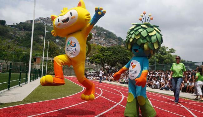 O anúncio dos nomes das mascotes foi feito no programa Fantástico, da Rede Globo - Foto: Agência Reuters