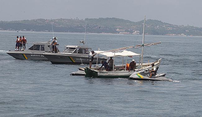 A Baía de Todos-os-Santos, com suas 56 ilhas, é um dos principais alvos da operação - Foto: Lucio Tavora | Ag. A TARDE