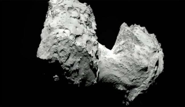 Missão Rosetta colocou um módulo em um cometa - Foto: Divulgação