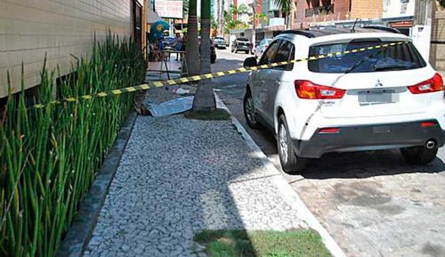 Policial foi atingido no abdômen quando tentava desarmar o assaltante - Foto: Alagoas24horas