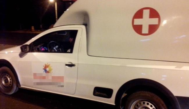 Função de motorista de ambulância está disponível para trabalhar no estado do Piauí - Foto: Divulgação | Nucom PRF