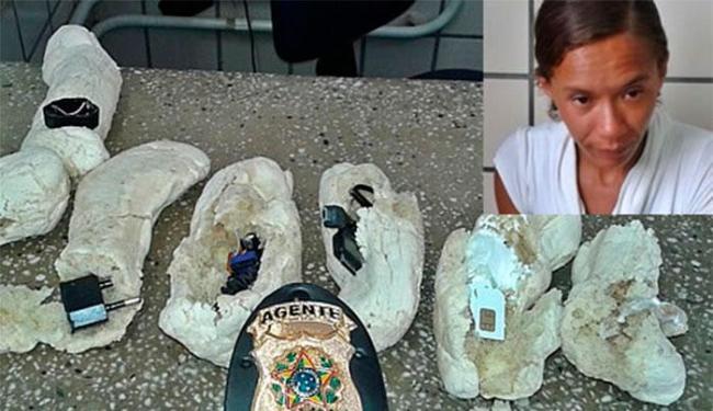 O flagra ocorreu dentro do Conjunto Penal de Teixeira de Freitas - Foto: Reprodução | Site Teixeira News