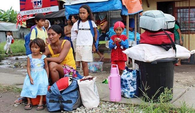 Mais de 1,2 milhão de pessoas fugiram para 1.500 centros de evacuação - Foto: Ag. Reuters