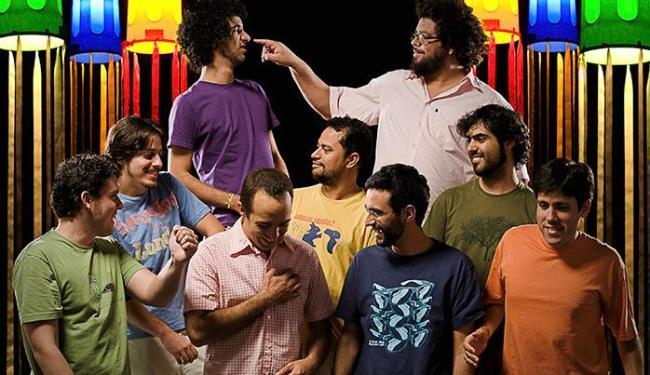 A banda está em uma turnê pelo Nordeste - Foto: Vini Goulart / Divulgação