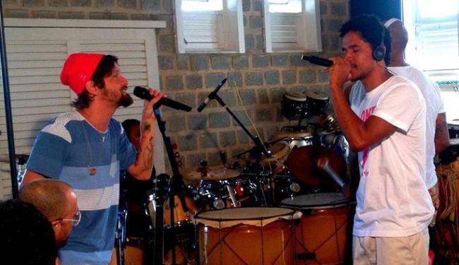A banda já havia participado do primeiro DVD solo de Saulo - Foto: Reprodução   Facebook