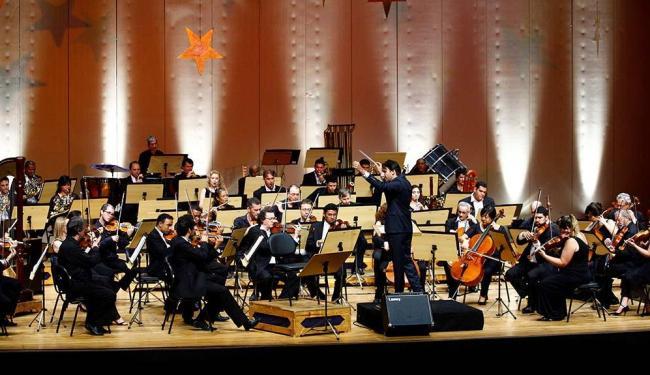 Osba realiza último concerto da Série Carybé 2014 nesta sexta-feira, 12 - Foto: Fernando Vivas | Ag. A Tarde