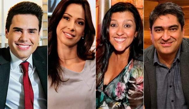 Luís Bacci, Neila Medeiros, Regina Casé e Zeca Camargo em programas ruins de 2014 - Foto: Divulgação