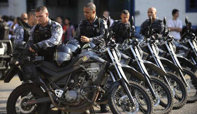 Policiais do Batalhão de Choque da PM participaram do curso de controle de distúrbios civi - Foto: Agência Brasil