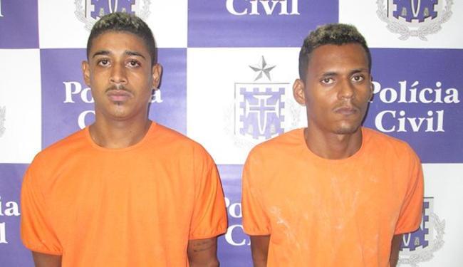 Dupla também está sendo investigada por envolvimento em outros homicídios - Foto: Ascom | Polícia Civil