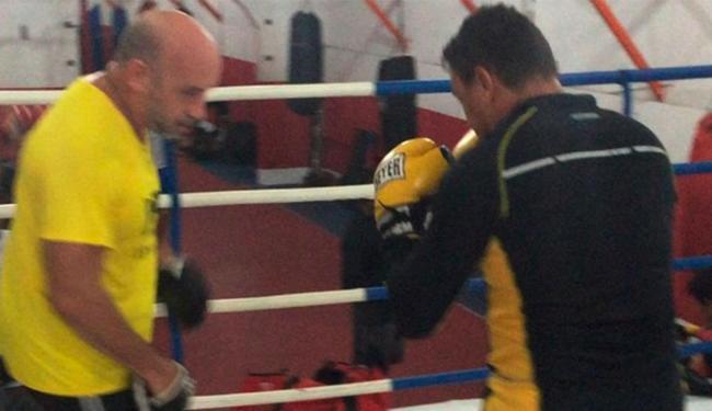 Popó está treinando em Belém para voltar a luta - Foto: Reprodução | Instagram