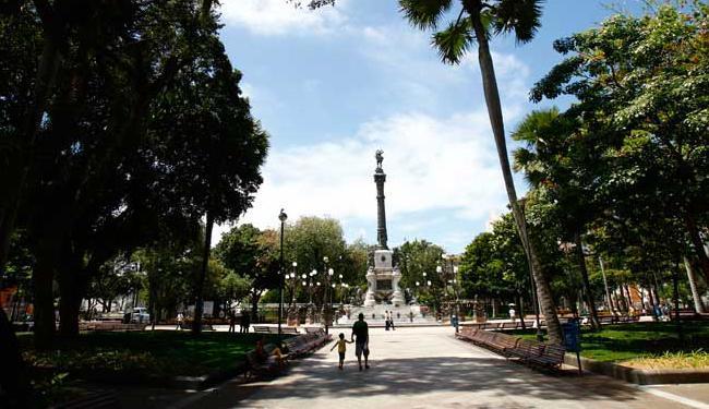Evento acontece na Praça 2 de Julho, mais conhecida como Campo Grande - Foto: Fernando Vivas   Ag. A TARDE