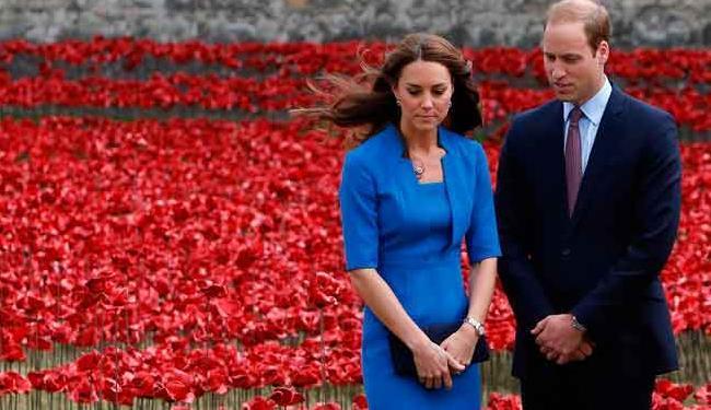 O duque e a duquesa de Cambridge devem chegar a Nova York no domingo - Foto: Agência Reuters