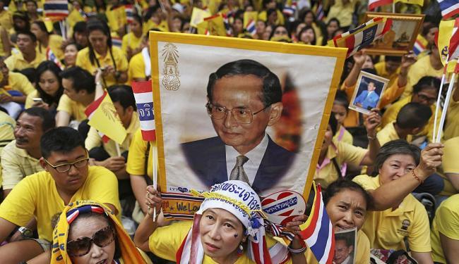 O rei está hospitalizado desde outubro - Foto: Agência Reuters