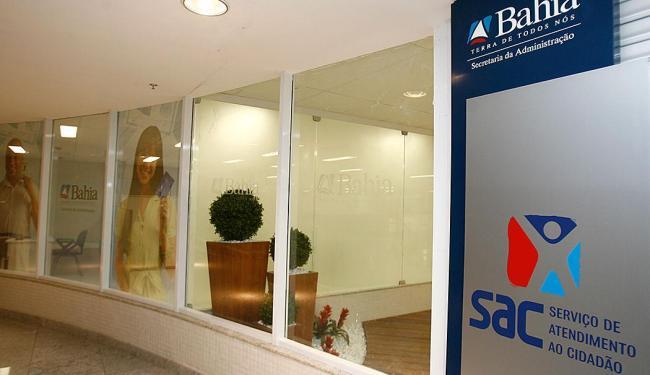 Alteração será nas unidades da capital e do interior do estado, além das três carretas do SAC Móvel - Foto: Iracema Chequer   Ag. A TARDE