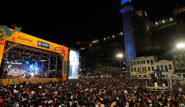 Show na Praça Cairu fez parte da programação do Réveillon de Salvador - Foto: Margarida Neide | Ag. A TARDE