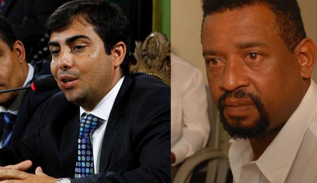 Declarações de Marcell Moraes (E) desagradam tata Raimundo Konmannanjy - Foto: Eduardo Martins e Fernando Amorim   Ag. A TARDE