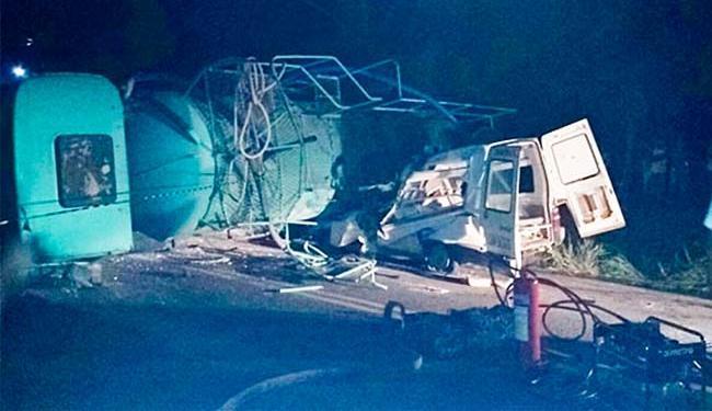 Vítimas ficara presas nas ferragens - Foto: Teixeira News | Reprodução