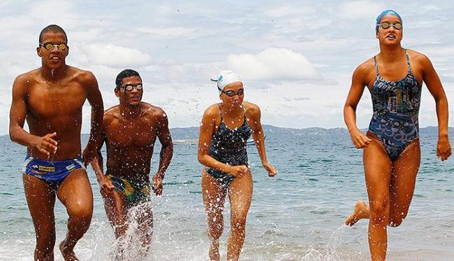 Renan, Luquine, Márcia e Suelly querem ser 'heróis' - Foto: Eduardo Martins   Ag. A TARDE