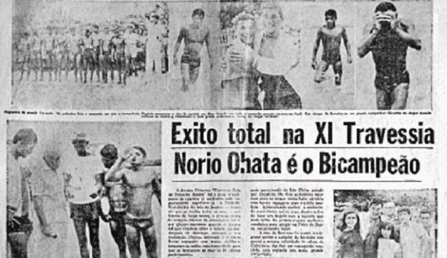 Jornal A TARDE destaca a segunda vitória consecutiva de Ohata - Foto: Acervo A TARDE