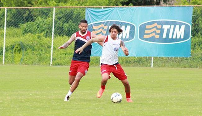 Elenco tricolor realizou último treino do ano no Fazendão antes da viagem a Curitiba - Foto: Divulgação l E.C. Bahia