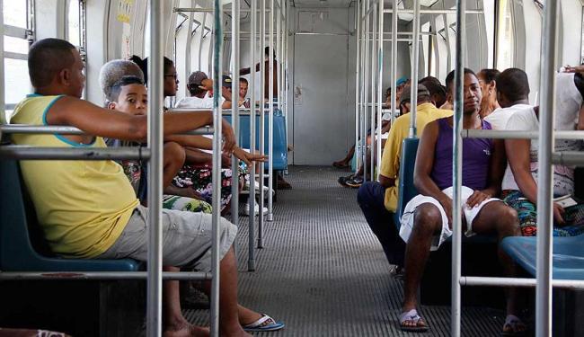 Trens voltam a funcionar após falhas técnicas nesta segunda-feira, 15 - Foto: Joá Souza| Ag. A TARDE