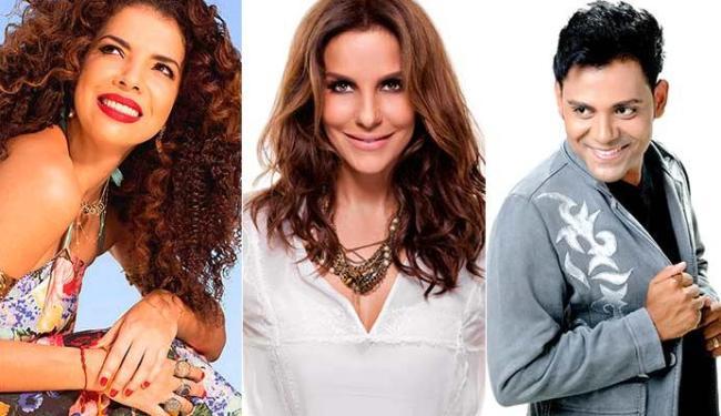 Vanessa da Mata, Ivete e Pablo vão se apresentar no Comércio, em frente ao Mercado Modelo - Foto: Divulgação
