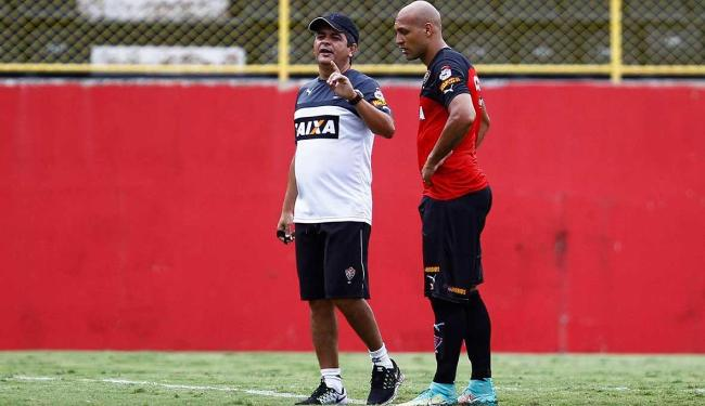 Edno vai fazer a função de Dinei contra o Santos - Foto: Eduardo Martins   Ag. A TARDE