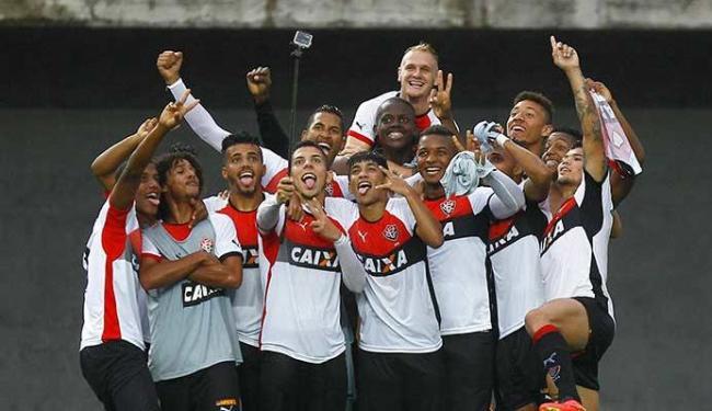Sub-20 do Leão comemora passagem à final do Brasileiro - Foto: Eduardo Martins   Ag. A TARDE