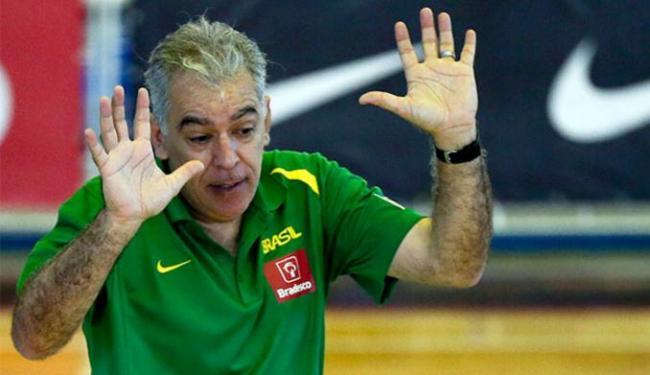 Zanon, técnico da Seleção Brasileira Feminina, gostou do sorteio dos grupos - Foto: Gaspar Nóbrega l Inovafoto