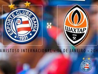 A partida acontece no dia 16, às 20h, na Arena Fonte Nova - Foto: Divulgação