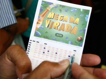 Bilhete - Mega da Virada - Foto: Arestides Baptista | Ag. A TARDE