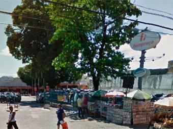 Crime aconteceu no Bompreço do IAPI - Foto: Reprodução | Google Maps