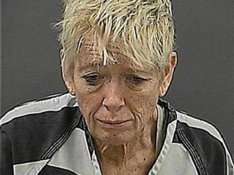 Cynthia Anderson, de 56 anos, foi detida na última sexta-feira por maus tratos contra o animal - Foto: Reprodução