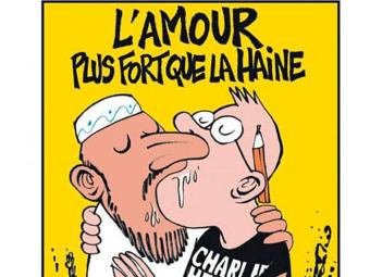 Uma das capas da revista que gerou reação dos muçulmanos - Foto: Reprodução