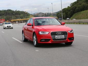 Seda com motor 1.8 turbo de 170 cv - Foto: Divulgação Audi