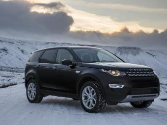 Modelo foi testado na neve - Foto: Divulgação Land Rover